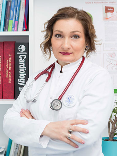 Prim. dr sci. med. Verica Stanković – Popović